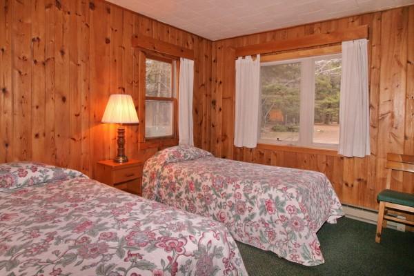 Four Bedroom Economy Villa 28 at Ruttger's Birchmont Lodge on Lake Bemidji
