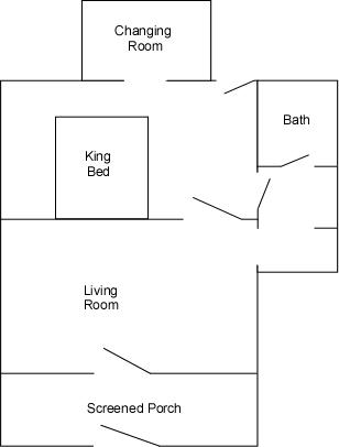 Cabins 14 16 17 18 19 20 21 22 floor plans