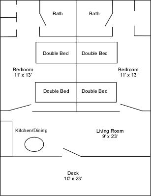 Villas 29 & 30 floor plan