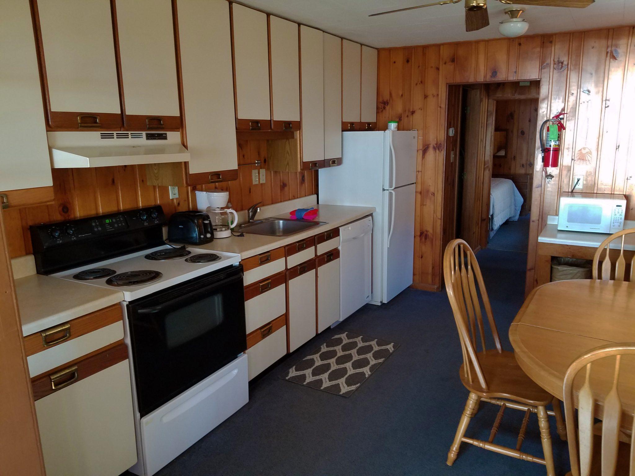 Cabin 26 Kitchen