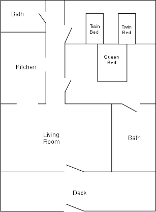 Villa 24 floor plan