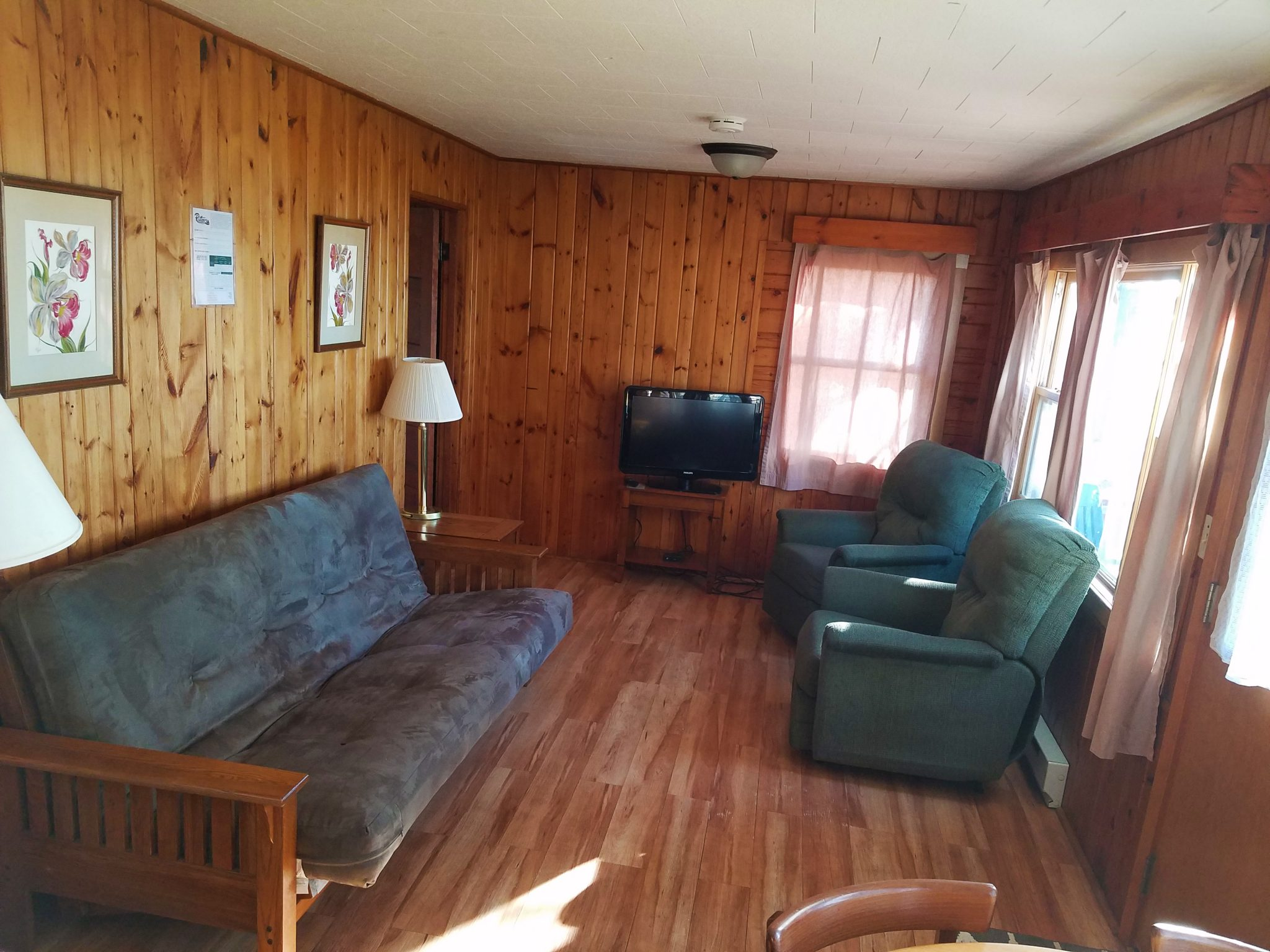 Cabin 30 Living Area