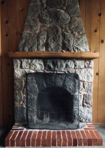 #17 Fireplace view
